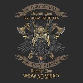 Veteran warrior pride no mercy tees graphic