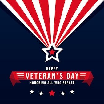 Veterans day concept