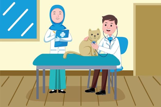 Veterinarian profession