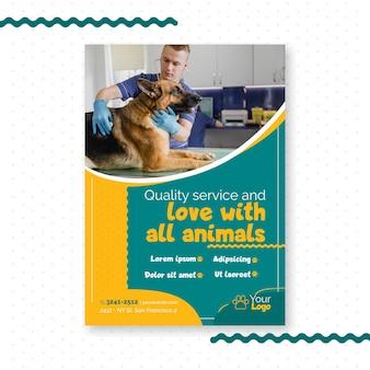 Veterinary flyer template
