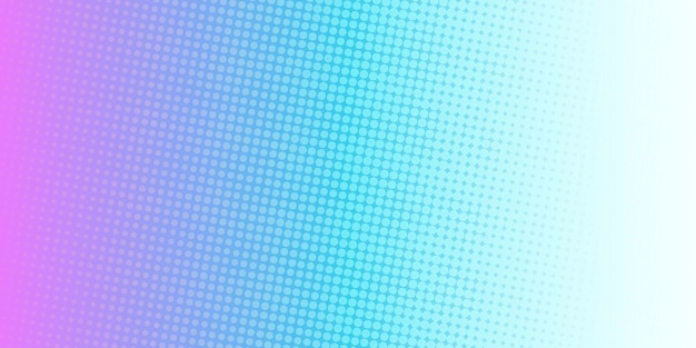 Vibrant beautiful color halftone cover background