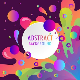 Vibrant colorful abstract background.