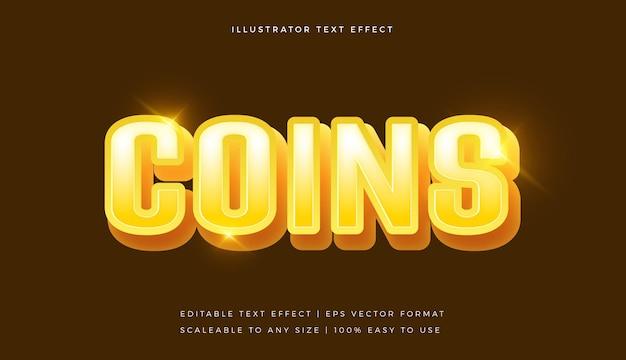 Vibrant golden fun text style font effect