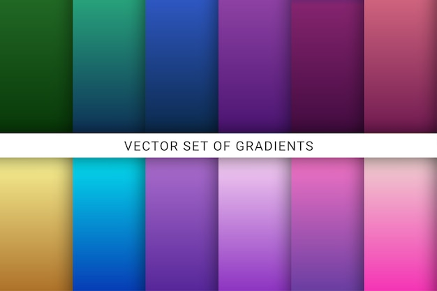 Vibrant and smooth gradient soft colors