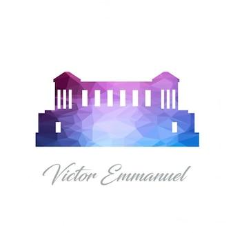 Victor emmanuel, polygonal