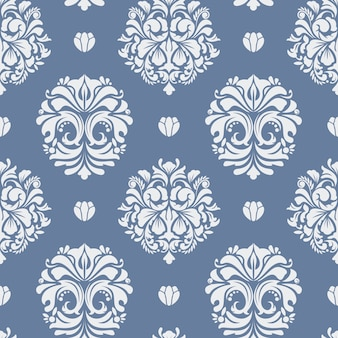 Victorian baroque background. seamless pattern decorative vintage.  flat