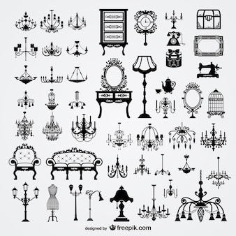 Victorian furniture elements