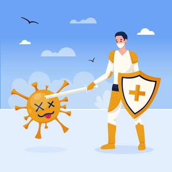 Victory over coronavirus