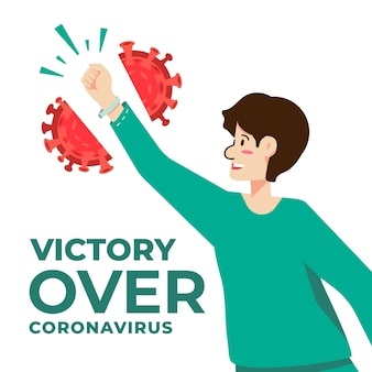 Victory over covid-19 and break free