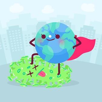 코로나 바이러스에 대한 승리