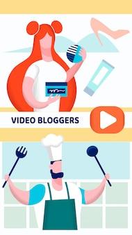 Video bloggers