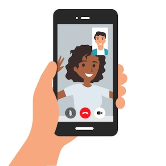 Video call application