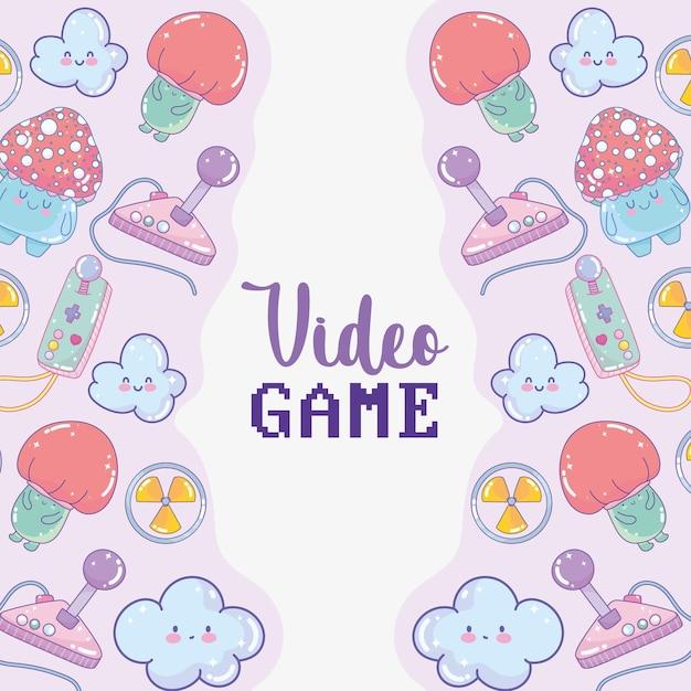 ビデオゲームの背景