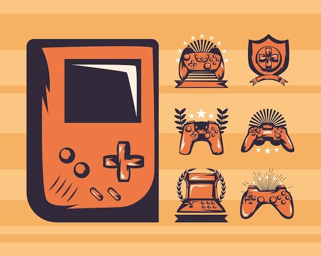 휴대용 비디오 게임 콘솔 및 컨트롤