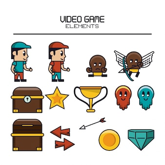Video game elements