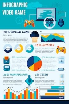 비디오 게임 인포 그래픽