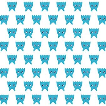 ビデオゲームのピクセルの生き物パターン