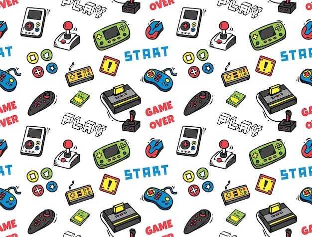 ビデオゲームのシームレスな背景