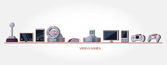 иконки консолей видеоигр
