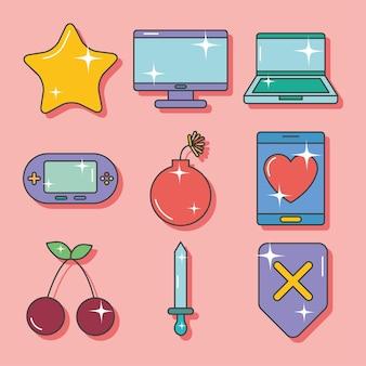 ビデオゲームセット