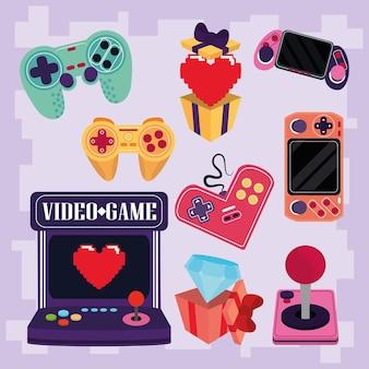 Video game set
