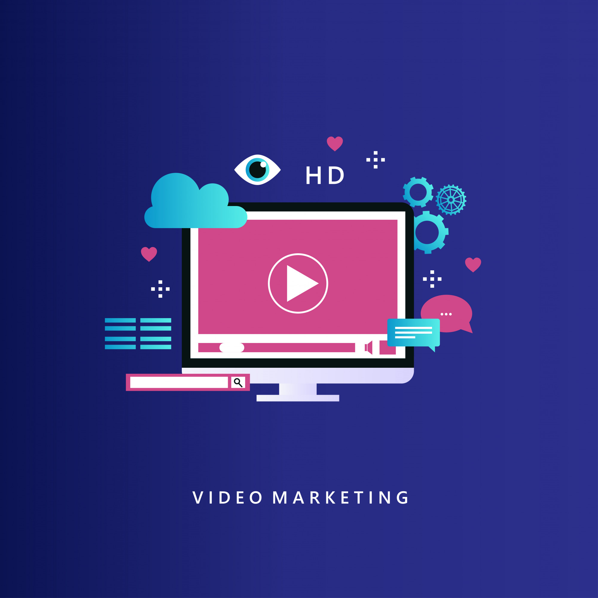 Video marketing campaign and online promotion