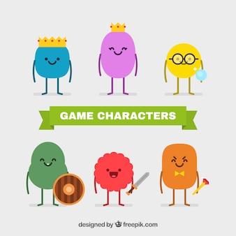Raccolta carattere videogame