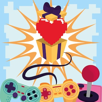 Videogame gift and controller