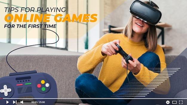 비디오 게임 youtube 썸네일