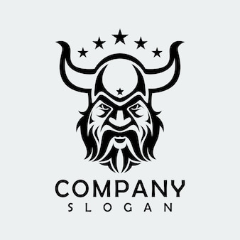 Viking abstract logo