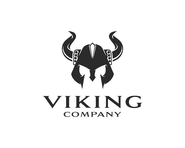 Viking armor helmet logo design for boat ship cross fit gym game club sport