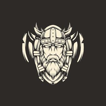 Viking axe illustration