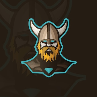 Viking background design