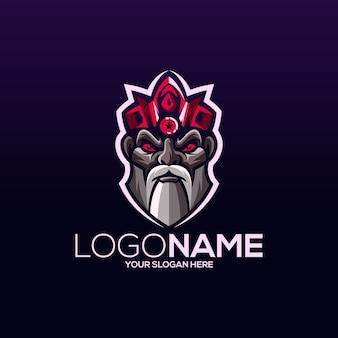 Викинг дизайн логотипа