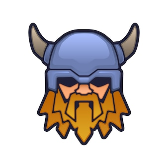 Талисман головы викинга