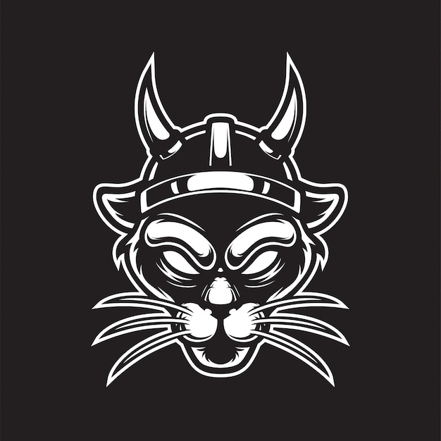 Viking panther  logo