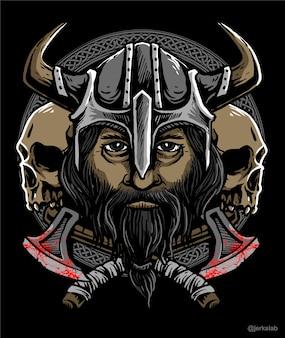 Viking warior design