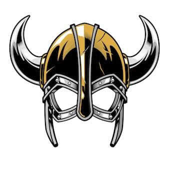 Viking warrior helmet