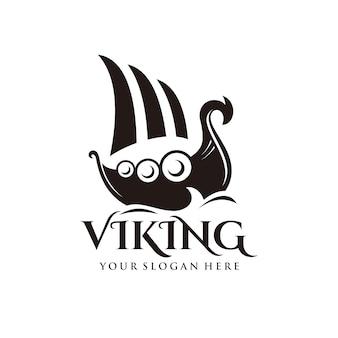 Логотип корабля viking