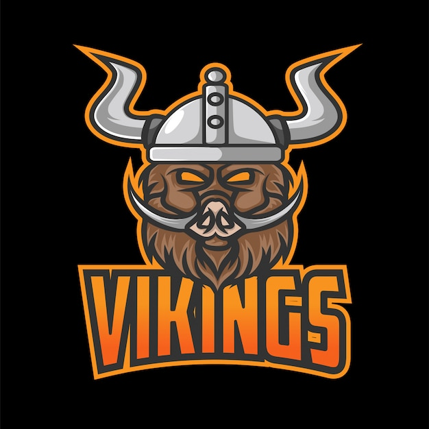 Vikings esport 로고