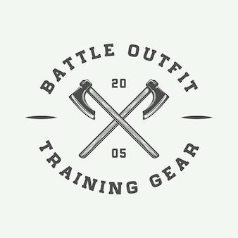 Vikings motivational logo