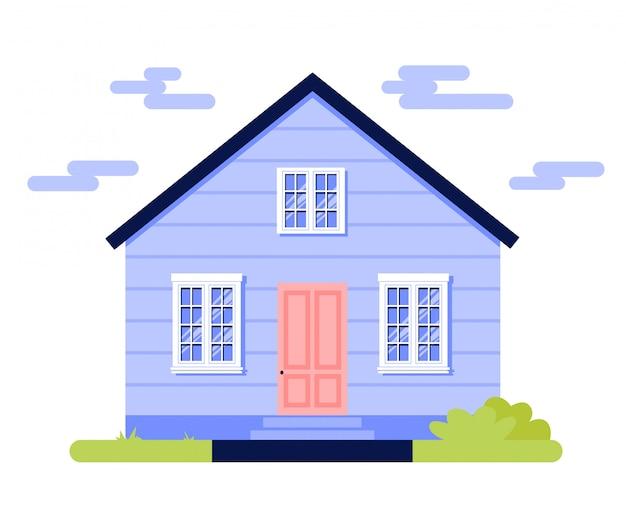 Village house icon