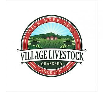 Village livestock logo