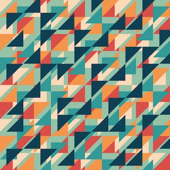 Vintage abstract geometric style background.