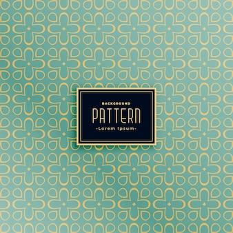 Vintage abstract pattern background design