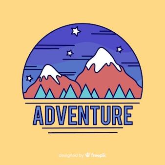 Vintage adventure logo