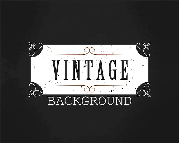Vintage background white