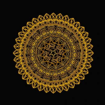 Vintage background with mandala