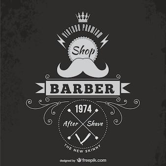 Vintage парикмахер значок