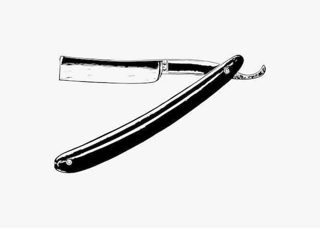 Vintage barber razor